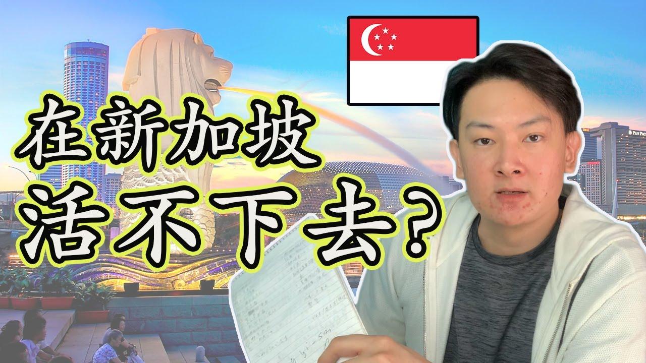 【新加坡】被人瞧不起?一个单身男子的一个月开销是?HOW MUCH EXPENSES A MONTH IN SINGAPORE?