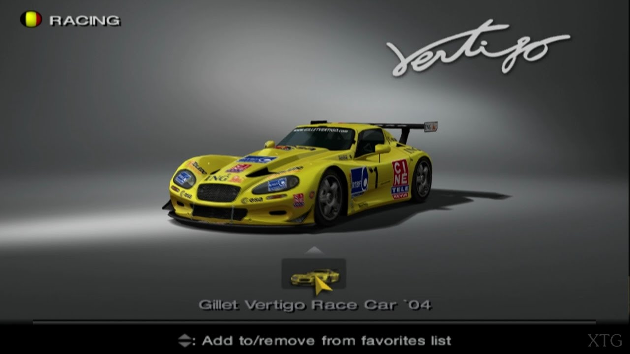 gran turismo 4 gillet automobiles car list ps2 gameplay hd youtube. Black Bedroom Furniture Sets. Home Design Ideas