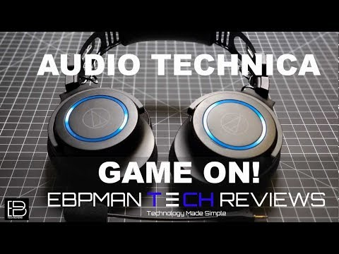 Audio-Technica ATH-G1WL Review And Game Voice Quality Test