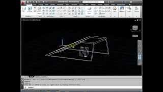 AutoCAD 3D Basics Tutorial 3 - UCS Control - Exercise 1