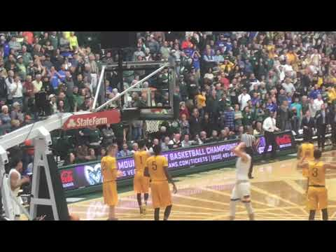 Wyoming men's basketball at Colorado State highlights