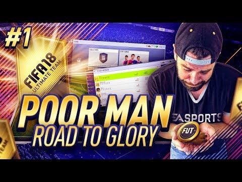 THE START!!! WEB APP LAUNCH!! PACKS!! SBCs!!! OMG!!  - Poor Man RTG #1 - FIFA 18 Ultimate Team