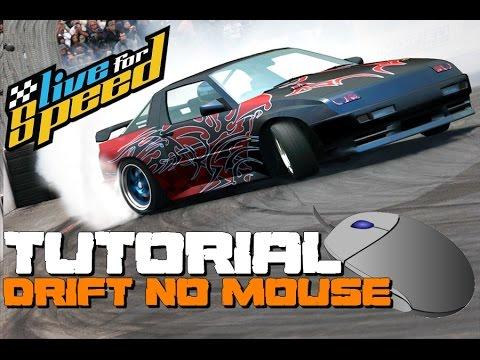 LFS - Tutorial completo de drift no mouse (PT/BR)