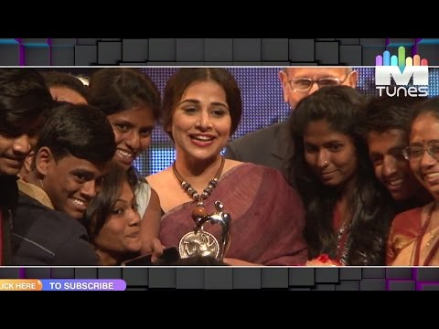 Vidya Balan spotted at a Youth related Event | MTunes HD