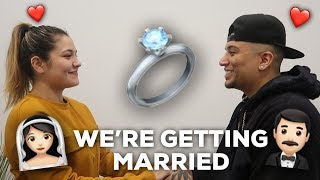 WE'RE GOING TO GET MARRIED!!!!