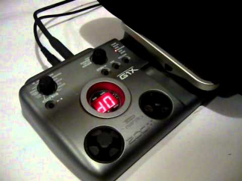 zoom g1x guitar multi effects pedal demo youtube. Black Bedroom Furniture Sets. Home Design Ideas