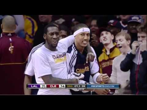 Christian Eyenga dunks on the Lakers