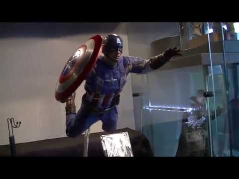 Hot Toys Captain America 2 The Winter Soldier Golden Age Version