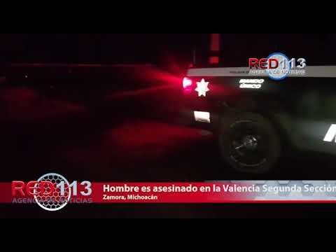 VIDEO Motociclista con antecedentes penales perece al ser baleado en Zamora