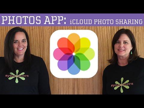 How to use icloud photo sharing on ipad