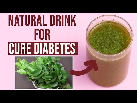 Only 2 Leaves Drink To Cure Diabetes | Natural Drink For Control Diabetes