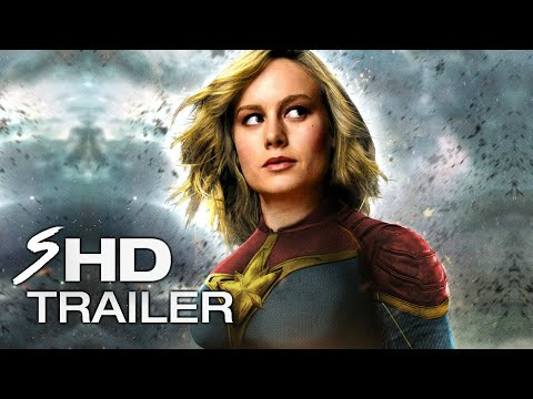 Captain Marvel (2019) - BRIE LARSON Teaser Trailer (LEAKED FOOTAGE) (Fan Made)