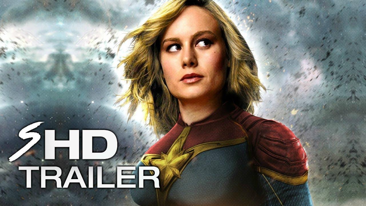 captain marvel (2019) - teaser trailer concept brie larson (leaked