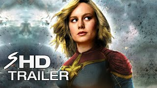 Captain Marvel (2019) - Teaser Trailer Concept BRIE LARSON (LEAKED FOOTAGE) (Fan Made) streaming