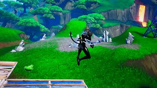 Fortnite Season 8 Without touching the ground