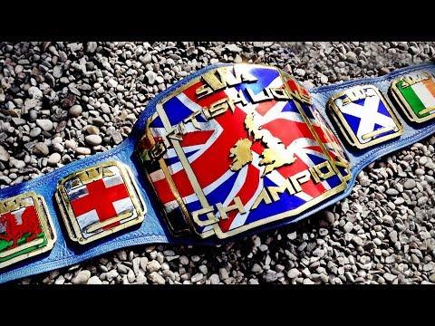SWA 'BritishLions' Championship Belt ⚡ Rebel City Props #7
