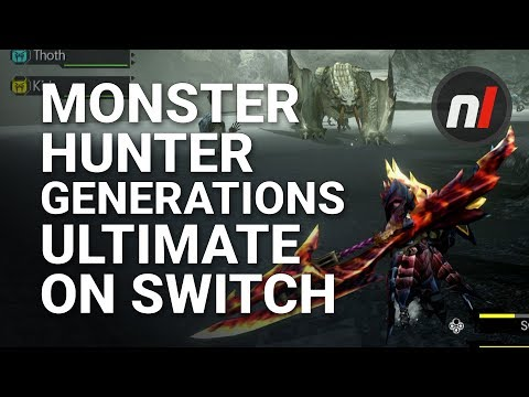 Monster Hunter Generations Ultimate Is Getting A Free Demo On Switch