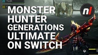 Monster Hunter Generations Ultimate Nintendo Switch Gameplay (English)