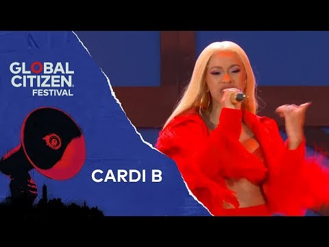 Cardi B Performs Drip | Global Citizen Festival NYC 2018
