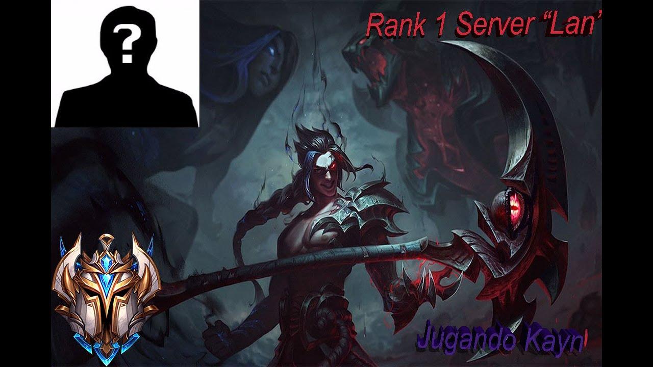 """Download Rank 1 Server Lan  """"Parabellum"""" jugando kayn Jg Elo Challenger"""