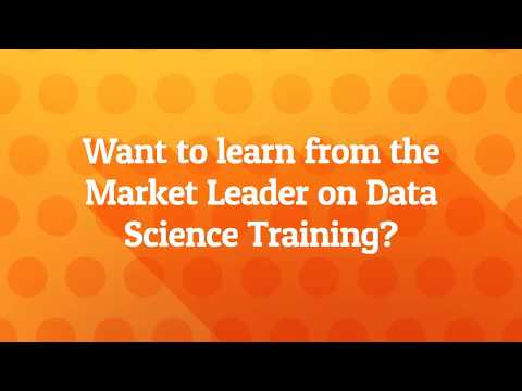 Best Data Science Training in Bangalore | www.myTectra.com