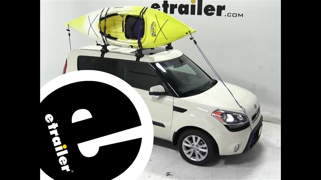 Thule The Stacker Rooftop Kayak Carrier Review 2013 Kia