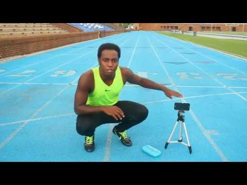 How To Time Your 100m Sprint Alone With Sprint Stopper App