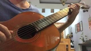 Gợi nhớ quê hương - Ngọc Sơn - guitar-solo- cover