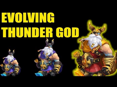 Castle Clash Evolving Thunder God And Artifacts Must Watch