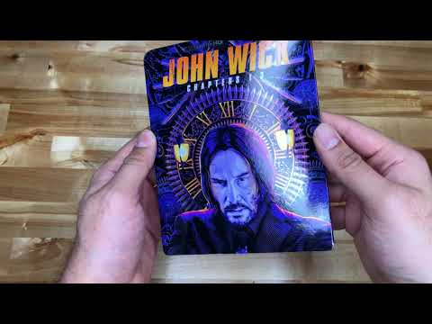 Download John Wick Chapter 1-3 4K UHD unboxing and digital code
