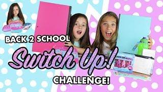 Back To School Supplies Switch Up Challenge | Rosie McClelland