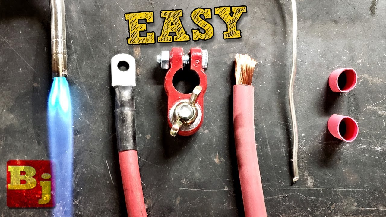 How To Make Your Own Battery Cables The Easy Way Youtube Jeep Xj Cable Upgrade