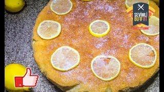 Limon siropu ilə MANNILI PİROQ / МАННЫЙ ПИРОГ с лимонным сиропом