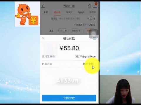 Bài 17: HD Cách Thanh Toán Trực Tiếp Trên Taobao