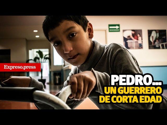Pedro… un guerrero de corta edad
