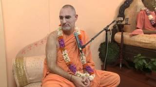 2009.06.22. Varnashrama Seminar 3 H.H. Bhaktividya Purna Swami - Riga, LATVIA