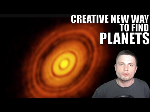 We Discovered a New Original Way to Look For Planets