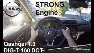 Nissan Qashqai 1.3 DIG-T 160 DCT 2019 POV Test Drive + Acceleration 0 - 200 km/h