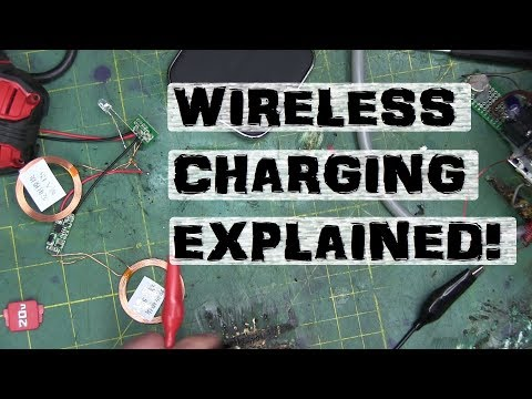 Qi Wireless Charging EXPLAINED! | Electronics for the back of the class.