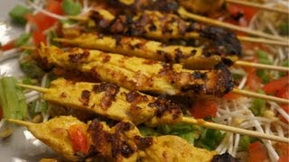 Chicken Satay Recipe Asian Bbq Easy To Make How To Cook Great Food Peanut Butter