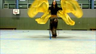 Regina Training Bellydance Wings