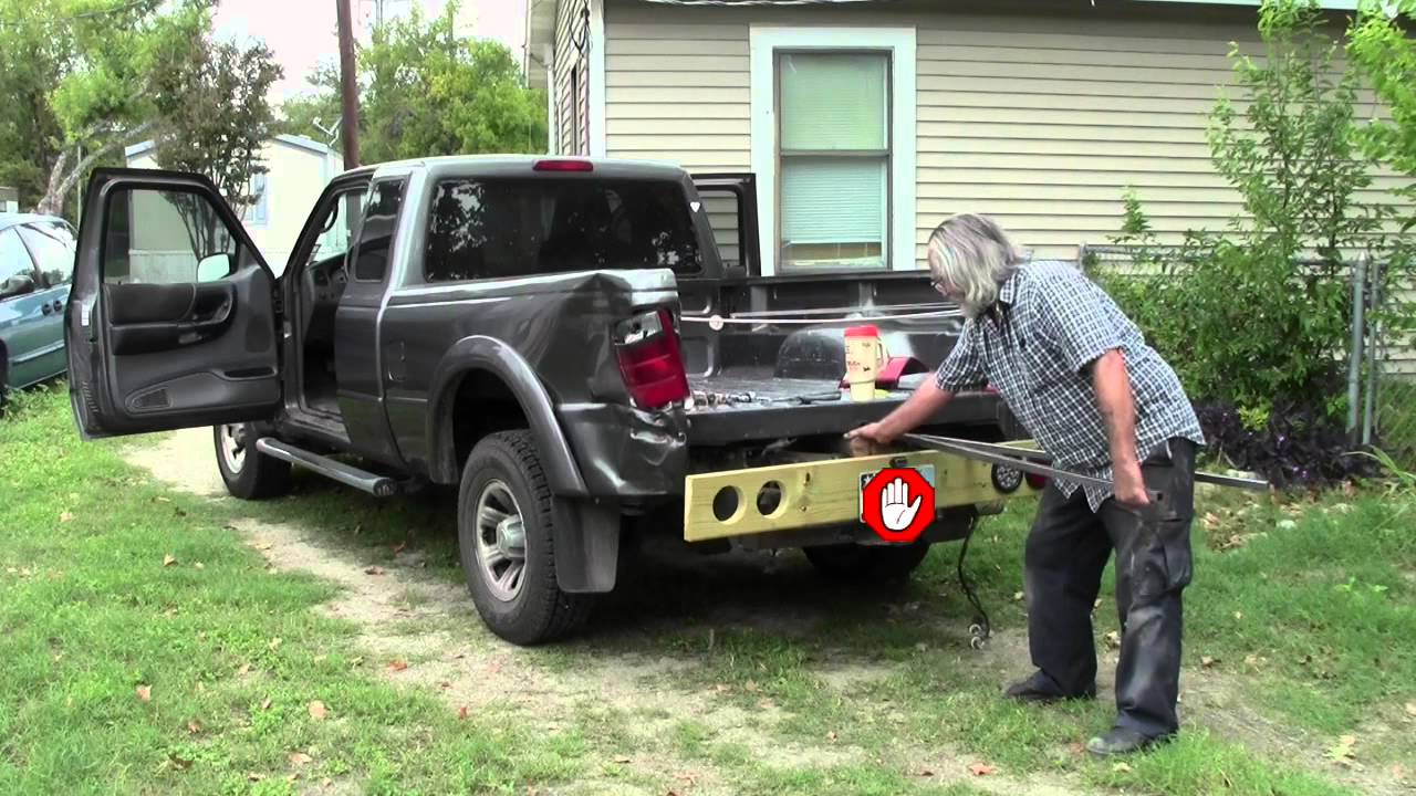 2004 Ford Ranger Flatbed Project Part01 Removing Truck
