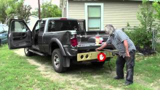 2004 Ford Ranger Flatbed Project - Part01 - Removing Truck Bed