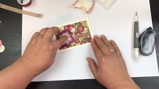 How to make a beautiful, yet simple Sympathy Card.