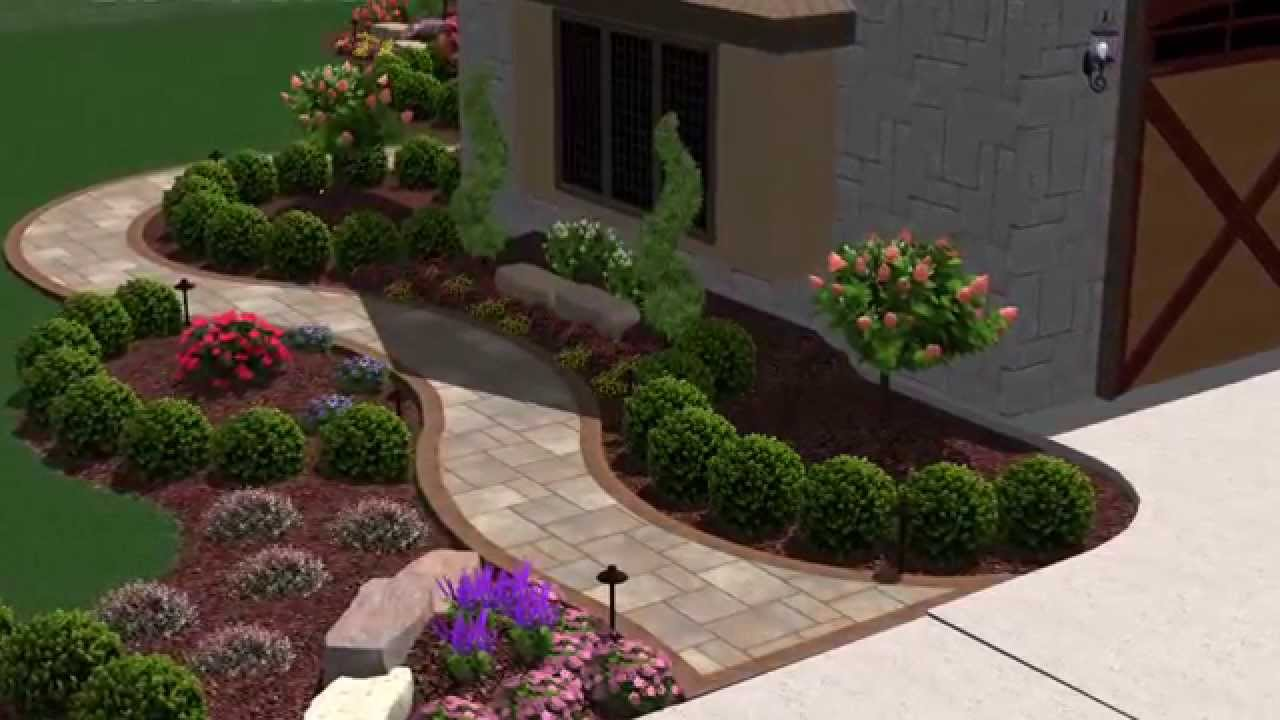 3d Landscape Design Of Northwest Indiana Youtube