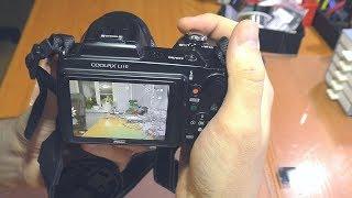 Щёлкает / Не работает рычаг увеличения фотокамеры Nikon Coolpix L110