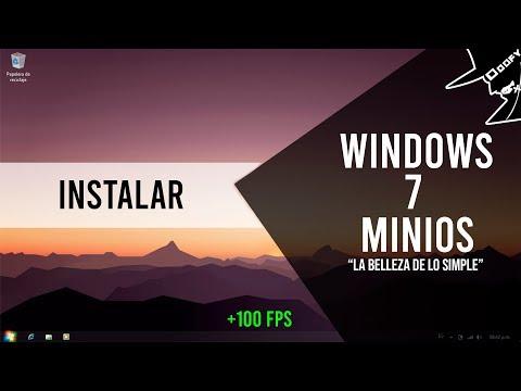 Aprende A Como Descargar E Instalar Windows 7 MiniOS (Paso Por Paso)