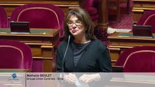 Le sénat rend hommage à la présidente Catherine Troendle qui termine son mandat