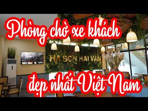 Phòng chờ xe khách đẹp nhất Việt Nam - nhà xe Hà Sơn Hải Vân