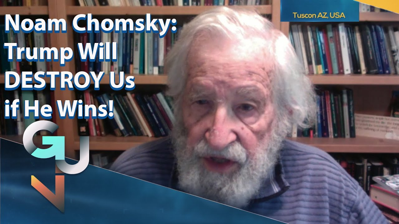 Noam Chomsky on Trump vs Biden, Threat of Nuclear War, Green New Deal & Julian Assange - YouTube